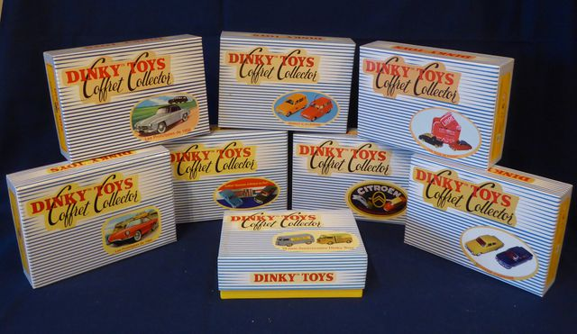 DINKY TOYS Editions ATLAS GROUP Lot de 8 coffrets collector