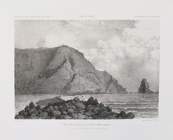 [Terres australes]. Mission de l'île Saint-Paul. Observations ast...