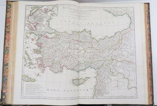 D'ANVILLE. Géographie ancienne abrégée. Paris, Merlin, 1769. In-f...