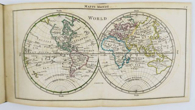 DURY (Andrew). A new, general, and universal atlas containing for...