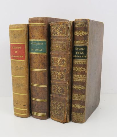 Lot. Ensemble de 4 volumes in-12 :  - PLUCHE (Antoine), Concorde ...