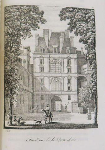 CASTELLAN (Antoine Laurent). Fontainebleau. Etudes pittoresques e...