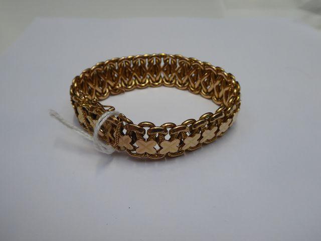Bracelet or jaune Pds 36 grs