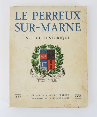 CHAMPION (Pierre) & SALABERT (Alexandre). Le Perreux-sur-Marne. N...