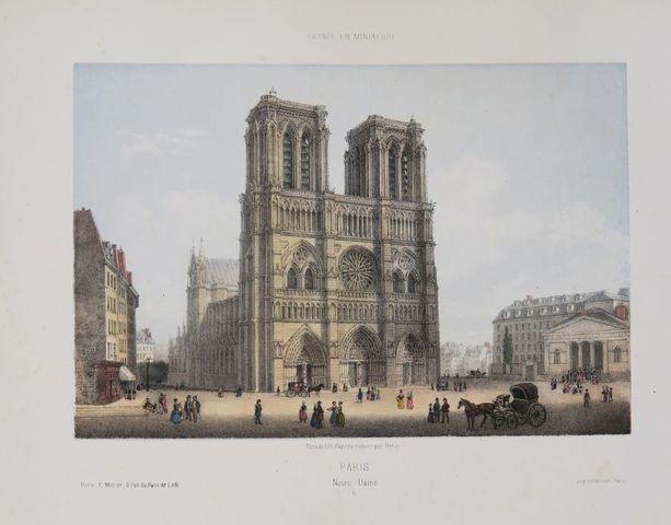 DEROY (Isidore-Laurent). Paris et ses environs. Paris, E. Morier,...