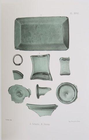 LUYNES (Charles d'Albert duc de). Notice sur des fouilles exécuté...