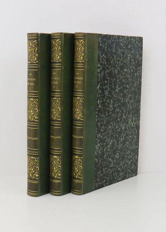 TROLLOPE (Frances Milton). Paris et les Parisiens en 1835. Paris,...