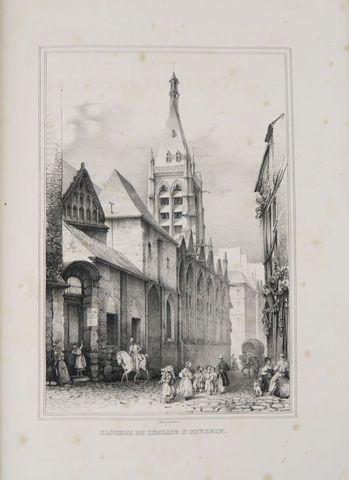 TURPIN DE CRISSÉ (Lancelot Théodore). Souvenirs du vieux Paris ex...