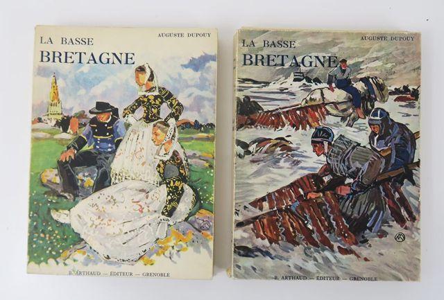 Bretagne - MÉHEUT (Mathurin) & DUPOUY (Auguste). La Basse-Bretagn...