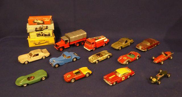 SOLIDO Lot de 17 véhicules
