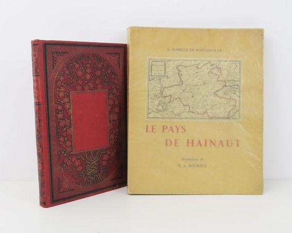 Hainaut - MABILLE DE PONCHEVILLE (A.). Le Pays de Hainaut. Illust...