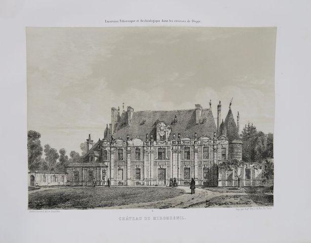 Normandie - DURAND (André). Excursion pittoresque & archéologique...