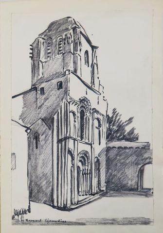 Saintonge - NANTEUIL (Jacques). A travers la Saintonge romane. Li...