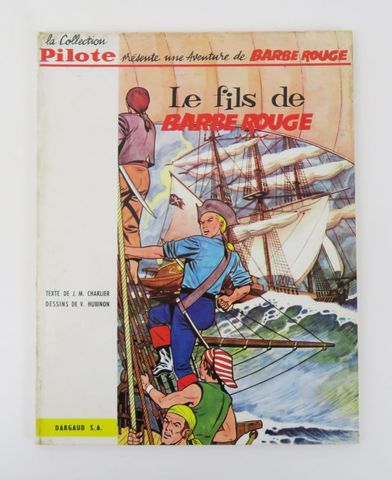 CHARLIER (Jean-Michel) & HUBINON (Victor). Le Fils de Barbe Rouge...
