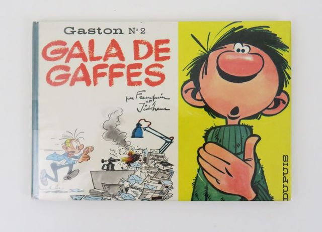FRANQUIN (André) & JIDEHEM. Gaston Lagaffe n°2. Gala de gaffes. M...