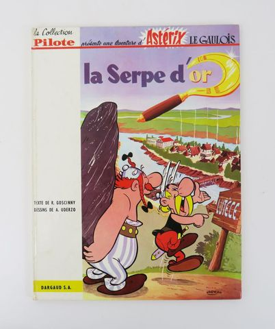 GOSCINNY (René) & UDERZO (Albert). [Astérix 2.] La Serpe d'or. Pa...