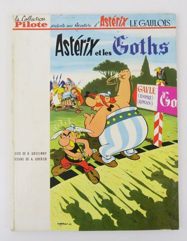 GOSCINNY (René) & UDERZO (Albert). [Astérix 3.] Astérix et les Go...