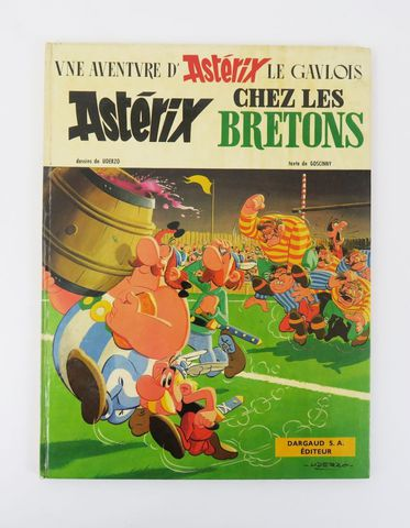 GOSCINNY (René) & UDERZO (Albert). [Astérix 8.] Astérix chez les ...