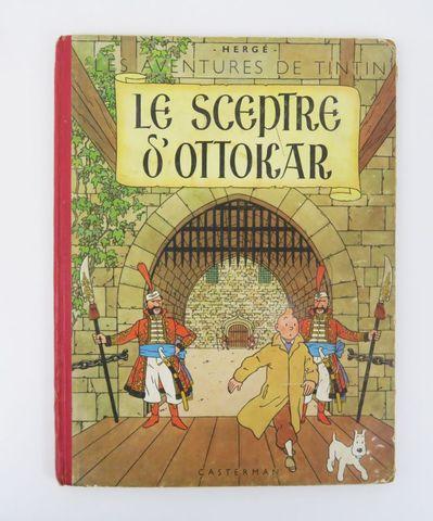 HERGÉ (Georges Rémi, dit). Le Sceptre d'Ottokar. Paris, Casterman...