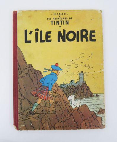 HERGÉ (Georges Rémi, dit). L'Île noire. Paris, Casterman, sd. Alb...