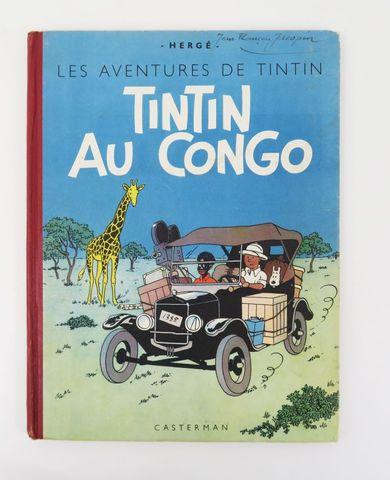 HERGÉ (Georges Rémi, dit). Tintin au Congo. Paris, Casterman, [19...