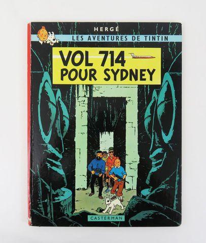HERGÉ (Georges Rémi, dit). Vol 714 pour Sydney. Paris, Casterman,...