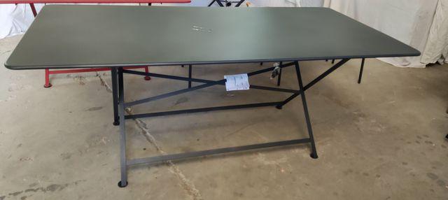 TABLE RECTANGULAIRE FERMOB 190 x 90 x 74 cm MODELE CARACTERE (NEU...