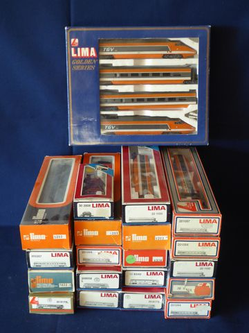LIMA dont HO Lot comprenant : 20 8173L 1022 CL 309267 20 8173L 20...