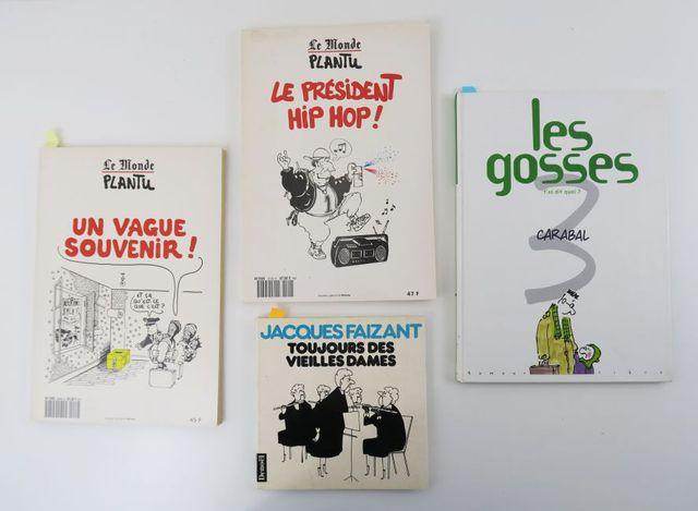 Lot. Ensemble de 4 albums:  - FAIZANT (Jacques), Toujours des vi...