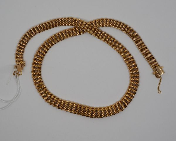 Collier or jaune Pds 26 grs