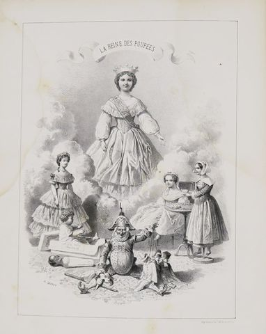 Anonyme. La Reine des Poupés. Histoires de petites filles raconté...