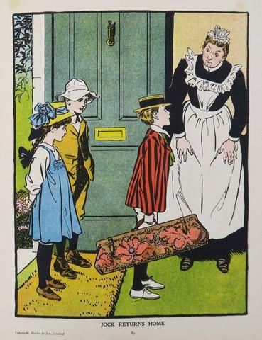 Blackie's Children Annual. Stories & verses by E. Nesbit, Evelyn ...