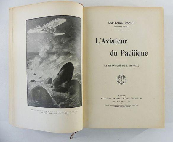 DANRIT (Capitaine). L'Aviateur du Pacifique. Illustrations de G. ...