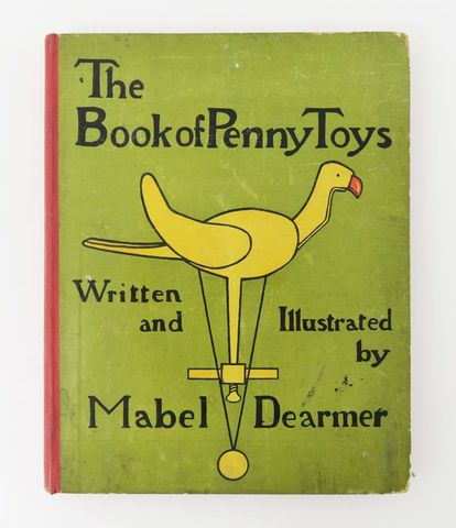 DEARMER (Mabel). The Book of penny toys. Londres, MacMillan & Co,...