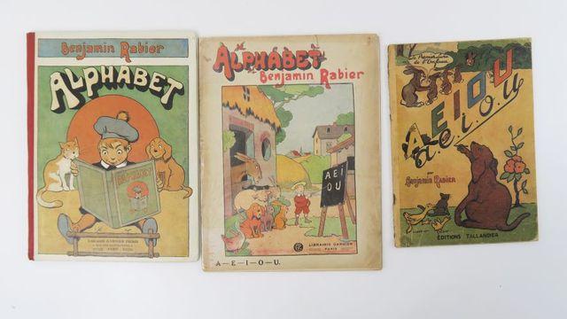 RABIER (Benjamin). Alphabet. Paris, Garnier frères, [1921]. Album...