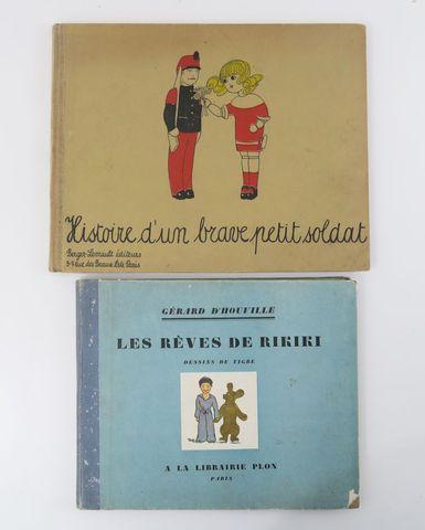 SCHALLER (Charlotte). Histoire d'un brave petit soldat. Paris, Be...