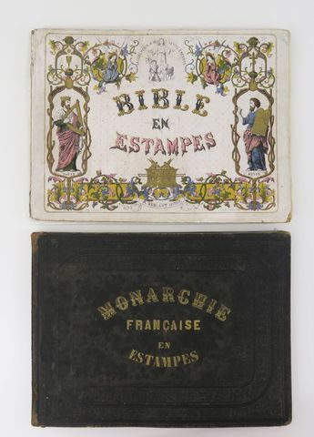VALLET & LELOIR. La Bible en estampes. Lithographies de M. Ch. Va...