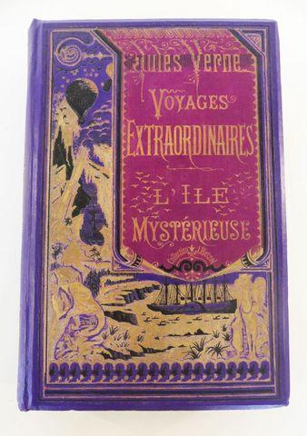 VERNE (Jules). L'île mystérieuse. Paris, Hetzel, sd (1881 catalog...