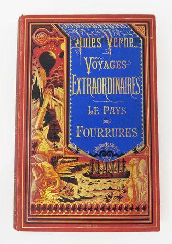 VERNE (Jules). Le Pays des Fourrures. Paris, Hetzel, sd (c. 1875-...