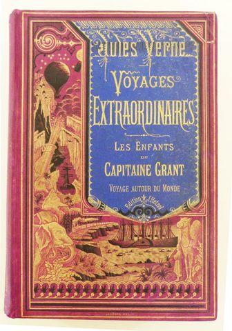 VERNE (Jules). Les Enfants du capitaine Grant. Paris, Hetzel, sd ...