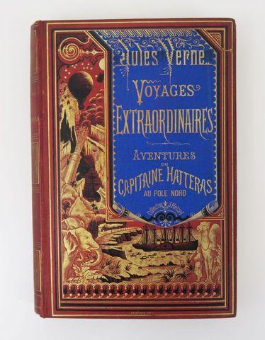 VERNE (Jules). Voyages et Aventures du Capitaine Hatteras. Paris,...