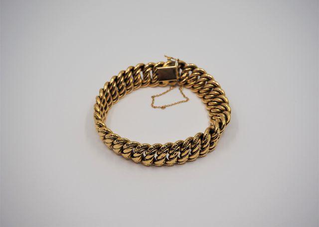 Bracelet or jaune Pds 25 grs