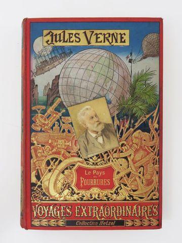 VERNE (Jules). Le Pays des Fourrures. Paris, Hetzel, sd (1893-189...