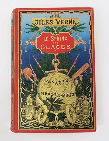 VERNE (Jules). Le Sphinx des glaces. Paris, Hetzel, sd (1897). Ca...