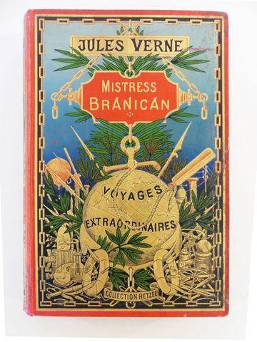 VERNE (Jules). Mistress Branican. Paris, Hetzel, sd (1897 catalog...