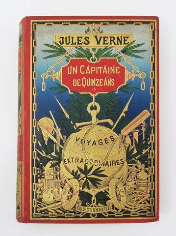 VERNE (Jules). Un Capitaine de quinze ans. Paris, Hetzel, sd (190...
