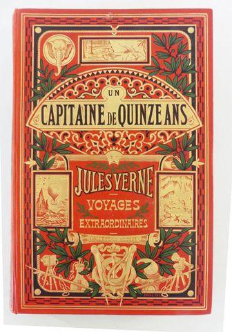 VERNE (Jules). Un capitaine de quinze ans. Paris, Hetzel, sd (ver...