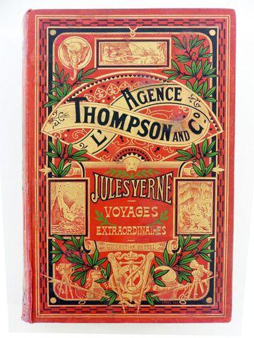 VERNE (Jules). L'Agence Thompson & co. Paris, Hetzel, sd (1907). ...