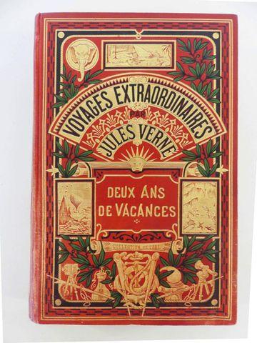 VERNE (Jules). Deux ans de vacances. Paris, Hetzel, sd (vers 1910...