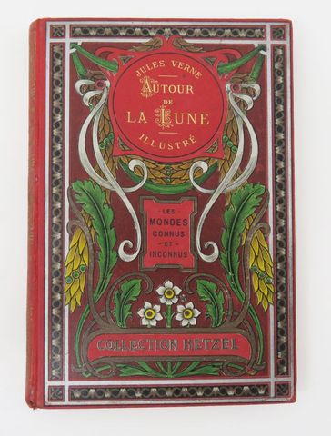 VERNE (Jules). Autour de la Lune. Paris, Hetzel, sd (c. 1906-1914...